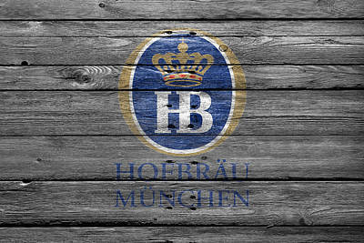 Hop Photograph - Hofbrau by Joe Hamilton