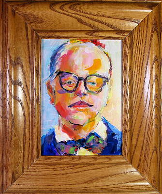 Painting - Hoffman's Capote by Les Leffingwell