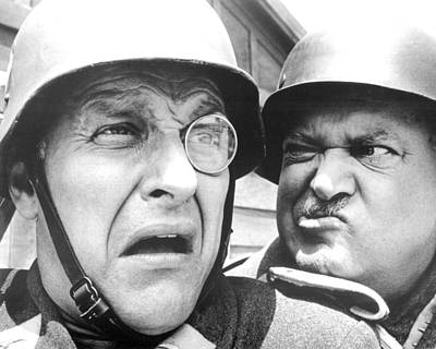Comedy Photograph - Hogan's Heroes  by Silver Screen