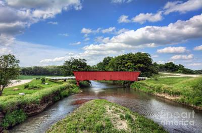 Hogback Photograph - Hogback Bridge And The North River by Eddie Yerkish