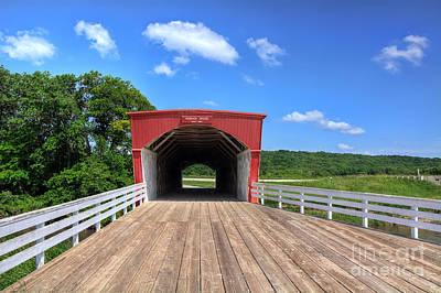 Hogback Photograph - Hogback Bridge by Eddie Yerkish