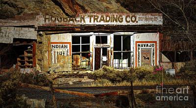 Hogback Photograph - Hogback Trading Company by Bob Christopher