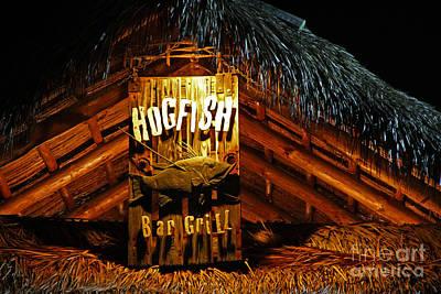 Hogfish Bar Grill Art Print