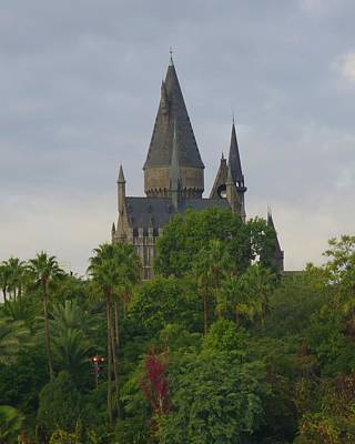 Photograph - Hogwarts Castle 1 by Kathy Long