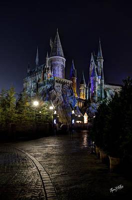 Potter School Photograph - Hogwarts Castle by Kevin  Ellis