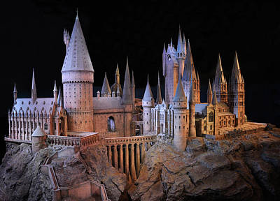 Hogwarts Castle Print by Tanis Crooks