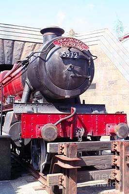 Hogwarts Express Color Art Print
