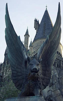 Photograph - Hogwarts by Laurie Perry