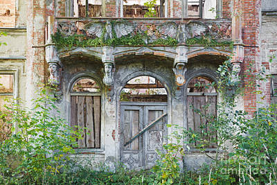 Abandoned Photograph - Hohenlandin by Julie Woodhouse