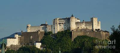 Photograph - Hohensalzburg Fortress Austria 1 by Rudi Prott