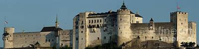 Photograph - Hohensalzburg Fortress Austria 2 by Rudi Prott