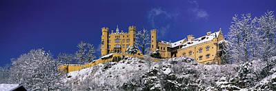 Hohenschwangau Castle Schloss Art Print by Panoramic Images
