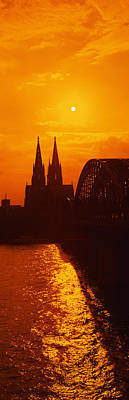 Hohenzollern Bridge, Cologne, Germany Art Print
