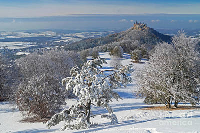 Art Print featuring the photograph Hohenzollern Castle 2 by Rudi Prott
