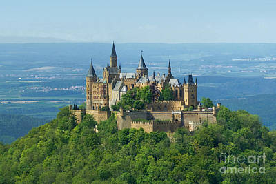 Photograph - Hohenzollern Castle 5 by Rudi Prott