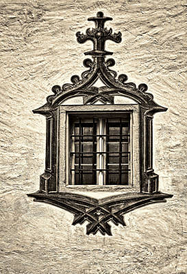 Castle Photograph - Hohes Schloss Window by Marcia Colelli