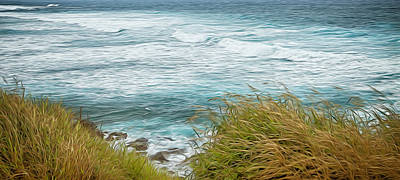 Photograph - Hohokipa Beach Hawaii by Theresa Tahara