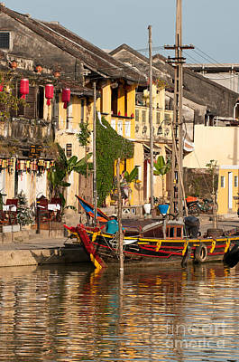 Photograph - Hoi An Fishing Boat 02 by Rick Piper Photography