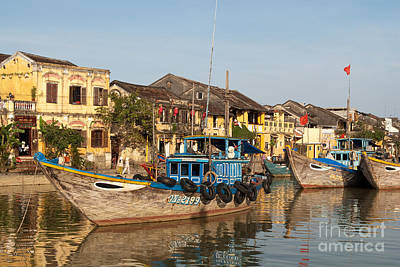 Photograph - Hoi An Fishing Boats 03 by Rick Piper Photography