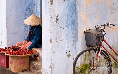 Photograph - Hoi An Hawker by Rick Piper Photography