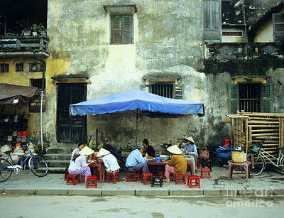 Photograph - Hoi An Noodle Stall 02 by Rick Piper Photography