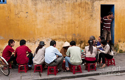 Photograph - Hoi An Noodle Stall 05 by Rick Piper Photography