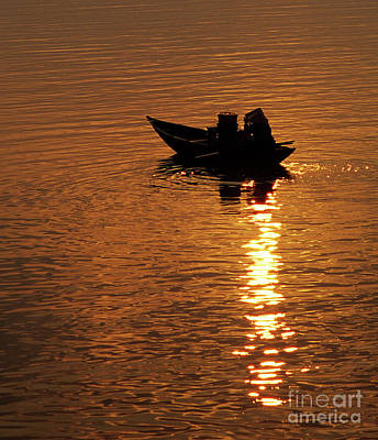 Photograph - Hoi An Sunrise 02 by Rick Piper Photography