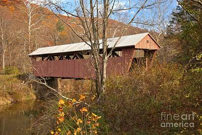 Photograph - Hokes Mill Over Second Creek by Adam Jewell