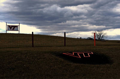 Photograph - Hokie Pride 2 by Cathy Shiflett