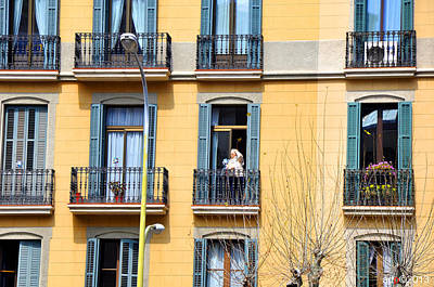 Photograph - Hola Barcelona by Andrew Dinh