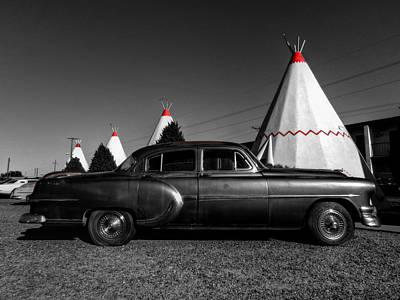Photograph - Holbrook Az - Wigwam Motel 004 by Lance Vaughn