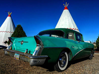 Route 66 Photograph - Holbrook Az - Wigwam Motel 008 by Lance Vaughn