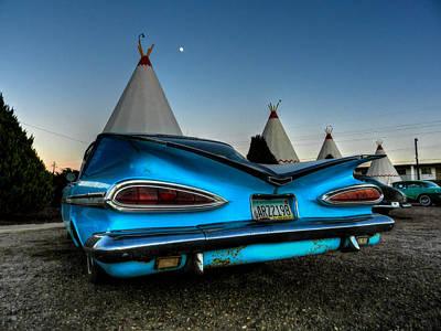 Photograph - Holbrook Az - Wigwam Motel 011 by Lance Vaughn