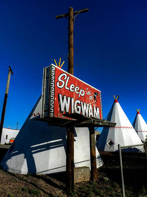 Photograph - Holbrook Az - Wigwam Motel 015 by Lance Vaughn