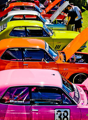 Autofocus Photograph - Holden Colors by Phil 'motography' Clark