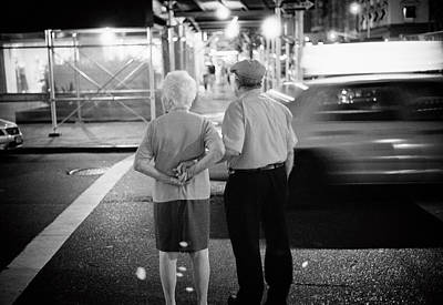 Photograph - Holding Hands Night by Dave Beckerman
