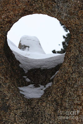 Photograph - Hole In Rock by Steven Parker