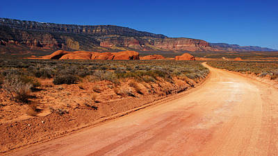 Photograph - Hole-in-the-rock Road by Daniel Woodrum
