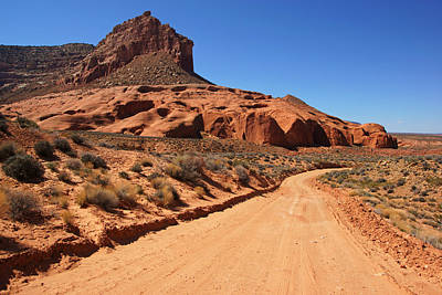 Photograph - Hole-in-the-rock Road II by Daniel Woodrum