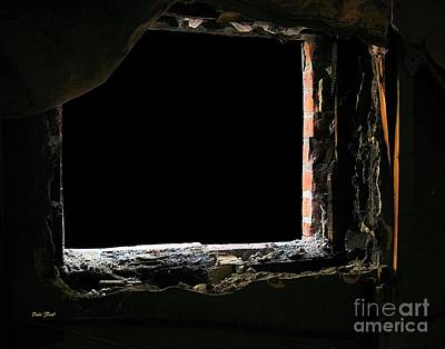 Digital Art - Hole In The Wall by Dale   Ford