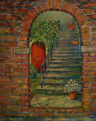 Hole In The Wall Art Print by Dorothy Allston Rogers