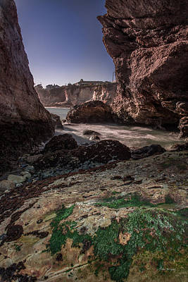 Photograph - Hole In The Wall----  Shell Beach by Tim Bryan