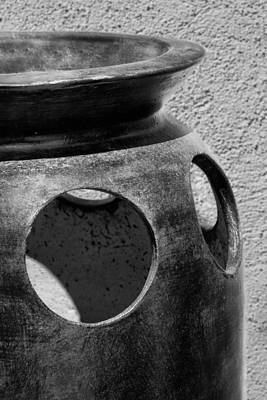 Clay Pottery Photograph - Holes In The Wall - Pottery by Nikolyn McDonald