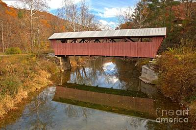 Photograph - Holes Mill Reflections In Second Creek by Adam Jewell