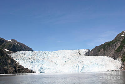 Holgate Glacier Art Print by Russell Christie