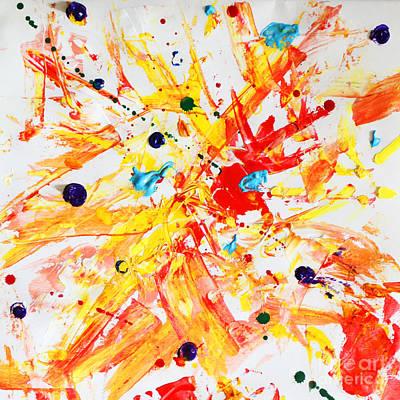 Holi Painting - Holi Hai by Alyona Kuraeva
