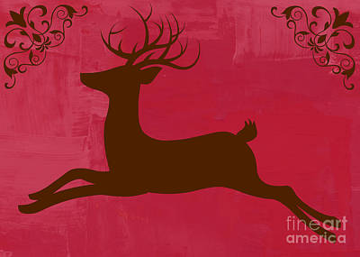 Digital Art - Holiday Buck by Mindy Bench