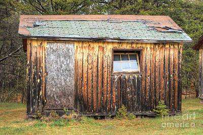 Michigan Photograph - Holiday Cabins Of The Past 2 by Deborah Smolinske