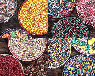 Painting - Holiday Candy by Shana Rowe Jackson