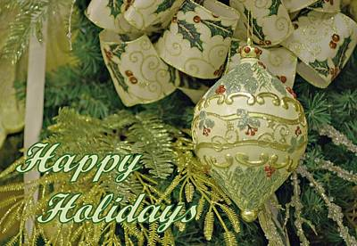 Photograph - Holiday Card by Sandy Keeton
